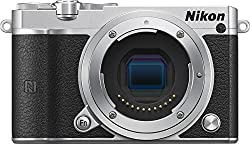 Nikon 1J5S Body 1 J5 Mirrorless Digital Camera, Silver Body Only