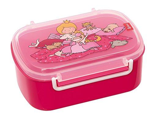 otdose mit buntem Druck, Brotzeitbox Pinky Queeny, Pink, 25007 ()
