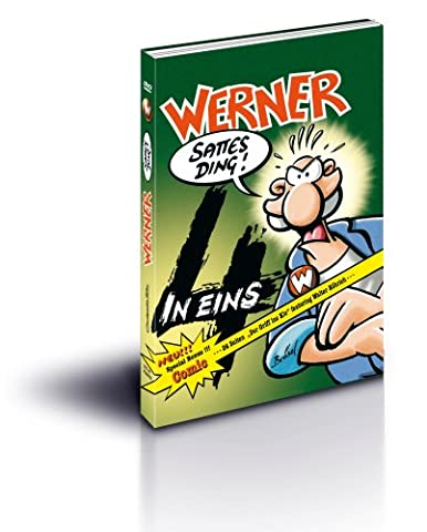 Werner – vier in eins (inklusive brandneuem Comic) [4 DVDs]