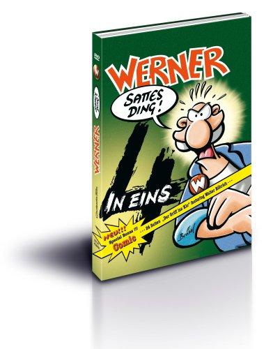 Werner - vier in eins (inklusive brandneuem Comic) [4 DVDs]