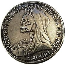 ARUNDEL SERVICES EU 1893 Réplica Gran Bretaña Corona de Plata Reina Victoria Moneda de Cabeza Velada
