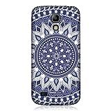 Head Case Designs Schutzhülle für Samsung Galaxy S4 mini i9190, Mandala-Design