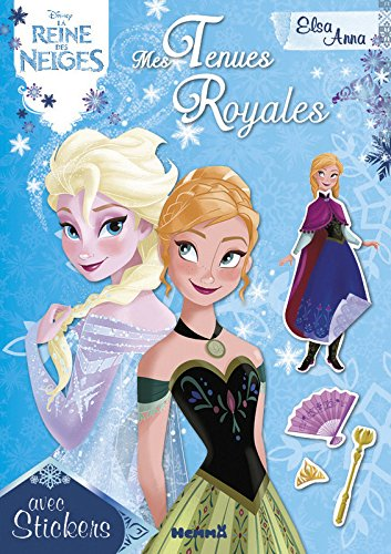 Disney La Reine des Neiges - Mes Tenues Royales