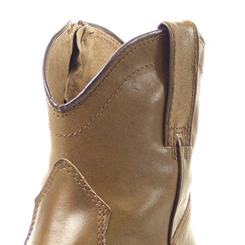 Senhoras de Moda Diferentes Tornozelo Boot Botas Fw1002 Cores Ocidental Taupe Bootee gfgCOwqx