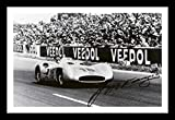 Juan Manuel Fangio Signiert und gerahmt Foto