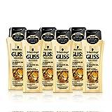Gliss Champú Ultimate Oil Elixir - Paquete de 6 x 250 ml - Total: 1500 ml