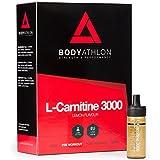 BodyAthlon L Carnitine Liquide 3000 mg, Brûleur de Graisse, 20 flacons 10 ml