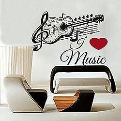 Decoraci n hogar adornos musicales ofertas en vinilos for Vinilos decorativos instrumentos musicales