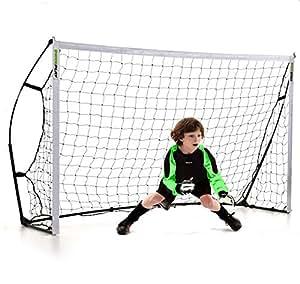 Kickster 2,4m x 1,5 m Fußballtor - 2min Aufbauzeit!