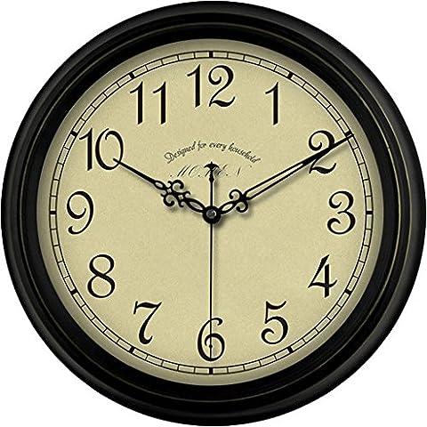 Retro Wall Clocks Elegant Antique Living Room Hanging Table Wall Clocks Quartz Clocks 14in