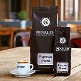 Dinzler Kaffeerösterei Verona 1kg | ganze Bohne | hochwertiger Espresso | kräftiger Geschmack | ideal für Siebträgermaschinen