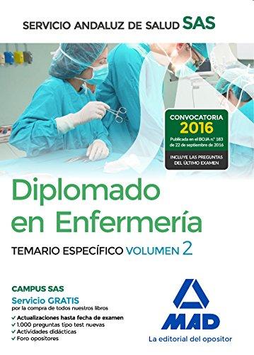Diplomado en Enfermería del Servicio Andaluz de Salud. Temario específico volumen 2