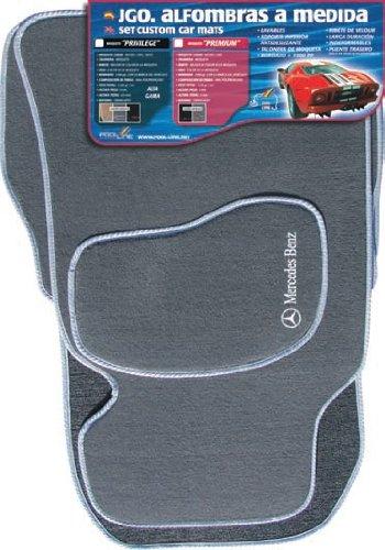 Preisvergleich Produktbild Spiel von Teppichen Teppichböden Maßgeschneiderte Premium Grau