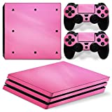 Gotor® Body Wrap Sticker Skin Decal Protector Faceplate Leder-Label Aufkleber für PlayStation 4PS4PRO PRO Console and Controller 25#