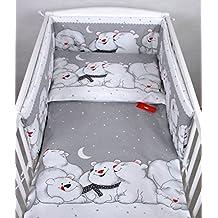 BABYLUX Kinderbettwäsche 2 Tlg. 90 x 120 cm Bettwäsche Bettset Babybettwäsche