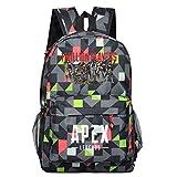 yuhiugre Unisex School Backpack,APEX Legends Canvas Rucksack Laptop Book Bag Satchel Hiking Bag, Plenty of Storage Bag fit School, Travel, Outdoors(APEX Legends-4)
