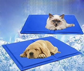 Ligopet Pad refroidissement pour animal domestique, Tapis rafraîchissant pour chiens et chats (M:50*40cm/19.7*15.7inch)