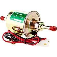 yulakes 12V universal Bomba de combustible gasolina diesel Bomba de diseño de gasolina Bomba Aceite eléctrico para máquina eléctrica