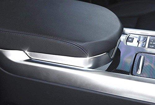 Carbon ABS Chrom Innen Dekoration Armlehne Box Verkleidung Zubehör Aufkleber für Sport RR SPORT 2014–2017
