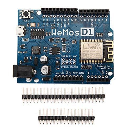 ARCELI WeMos D1 R2 WiFi ESP8266 Entwicklungsboard kompatibel Arduino UNO-Programm von Arduino IDE D1 Mini