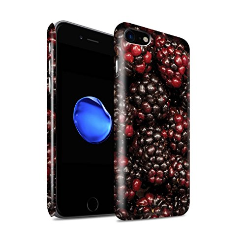 STUFF4 Glanz Snap-On Hülle / Case für Apple iPhone 8 / Melone Muster / Saftige Frucht Kollektion Johannisbeer