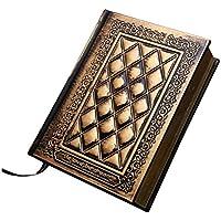 In stile europeo Retro in pelle fatto a mano in rilievo PU copertura diario notebook Quaderni da