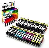 Koala 24 Druckerpatronen kompatibel für Epson 33 33XL T3351/T3361-T3364 für Epson Expression Premium XP-530 XP-540 XP-630 S XP-635 XP-640 XP-645 XP-830 XP-900 8*BK 4*FBK 4*C 4*M 4*Y