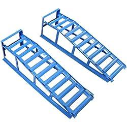 2 rampes de levage pour voiture d'une capacité portante de 2000 kg Certification TÜV / GS