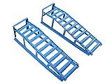 Coppia di rampe per auto, portata di 2000 kg, approvate TÜV/GS
