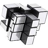 D Eternal Mirror Cube 3x3 Rubik Cube High Speed Stickerless Silver Mirror Magic Rubix Rubick Cube 3x3 Mirror Rubic Cube Brainstorming Puzzle Game Toy