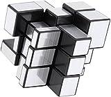 #10: D Eternal Mirror Cube 3x3 Rubik Cube High Speed Stickerless Silver Mirror Magic Rubix Rubick Cube 3x3 Mirror Rubic Cube Brainstorming Puzzle Game Toy