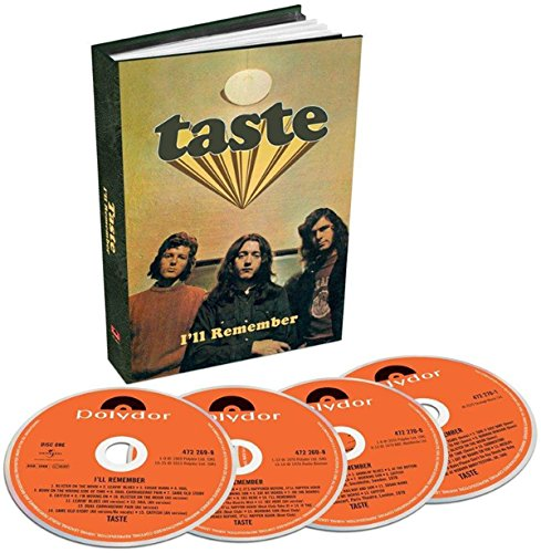 Taste: I'Ll Remember (4-CD Boxset) (Audio CD)