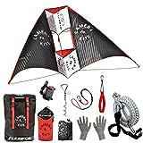 Flexifoil 1,6m breit Kamera Kite Action Kamera, Smartphone, Weltrekord-Kite-sichere, Familie, zuverlässig und langlebig, Outdoor-Aktivitäten für Erwachsene und Teenager