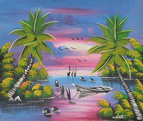Tropical Creations Hauptdekor-Wand Leinwand-Malerei Hand gemalt auf Leinwand 24