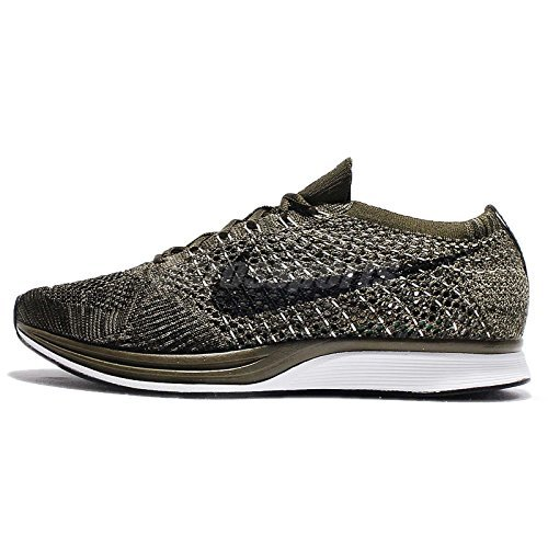 Nike Flyknit Racer Rough Green - Rough Green/Black Trainer Size 7 UK