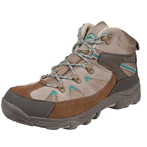 mountain-warehouse-womens-ladies-rapid-waterproof-breathable-walking-hiking-trail-shoes-boot-teal-7-