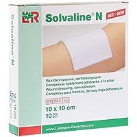 Solvaline N Kompressen 10x10 cm Steril, 10 St preisvergleich bei billige-tabletten.eu