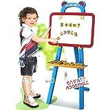 Samaira Toys Easel 3 in 1 Learning Reading Writting Educational Blackboard
