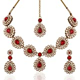 I Jewels Traditional Gold Plated Elegant...