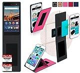 reboon Hülle für General Mobile 4G Tasche Cover Case Bumper | Pink | Testsieger