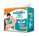 #8: Snuggles Premium Pants Medium Size Diapers - 74 Count