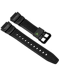 Casio Collection Ersatzband Uhrenarmband Resin Band schwarz passend zu SGW-1000 10500705