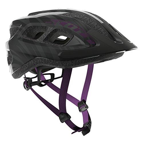 Scott Supra MTB Fahrrad Helm Gr. 54-61cm schwarz/lila 2018