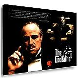 Boikal / Leinwand Bild The Godfather - Film - der Pate Leinwanddruck, Kunstdruck fm37 Wandbild 40 x 30 cm