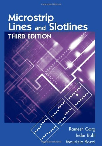 Microstrip Lines and Slotlines, Third Edition (Artech House Microwave Library) by Ramesh Garg, Inder Bahl, Maurizio Bozzi (2013) Hardcover