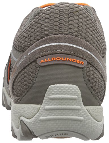 Allrounder by Mephisto Natal, Baskets Basses Femme Gris (60/S 60 Grigio)