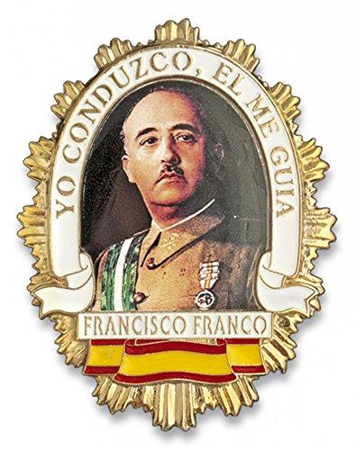 Outletdelocio. Placa metalica Francisco Franco. Especial