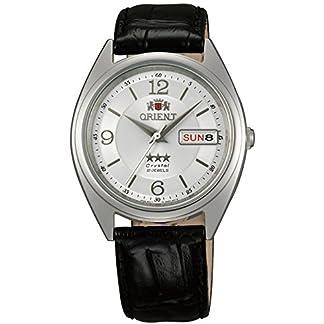 Orient Reloj Analógico para Unisex Adultos de Automático con Correa en Cuero FAB0000KW9