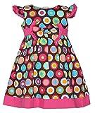 ChipChop Kids Girls Partywear Brown Polk...