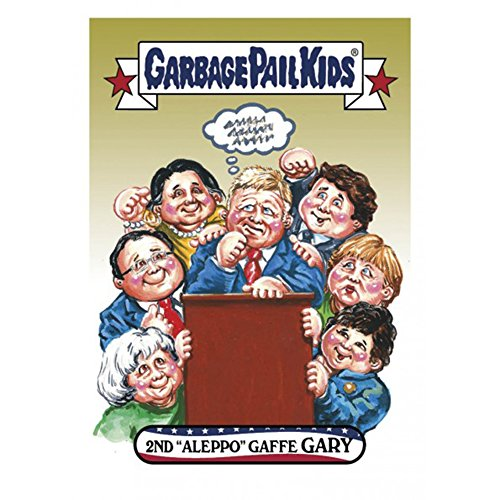 GPK: Disg-Race To The White House: 2nd Aleppo Gaffe Gary, Card 8